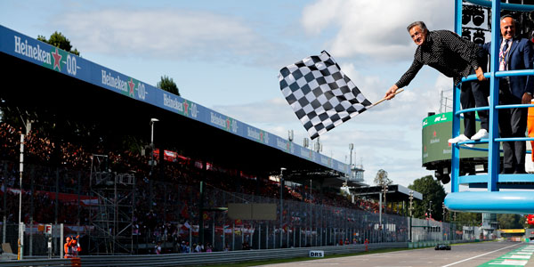 Chequered flag restored as the official sign an F1 Grand Prix has ended