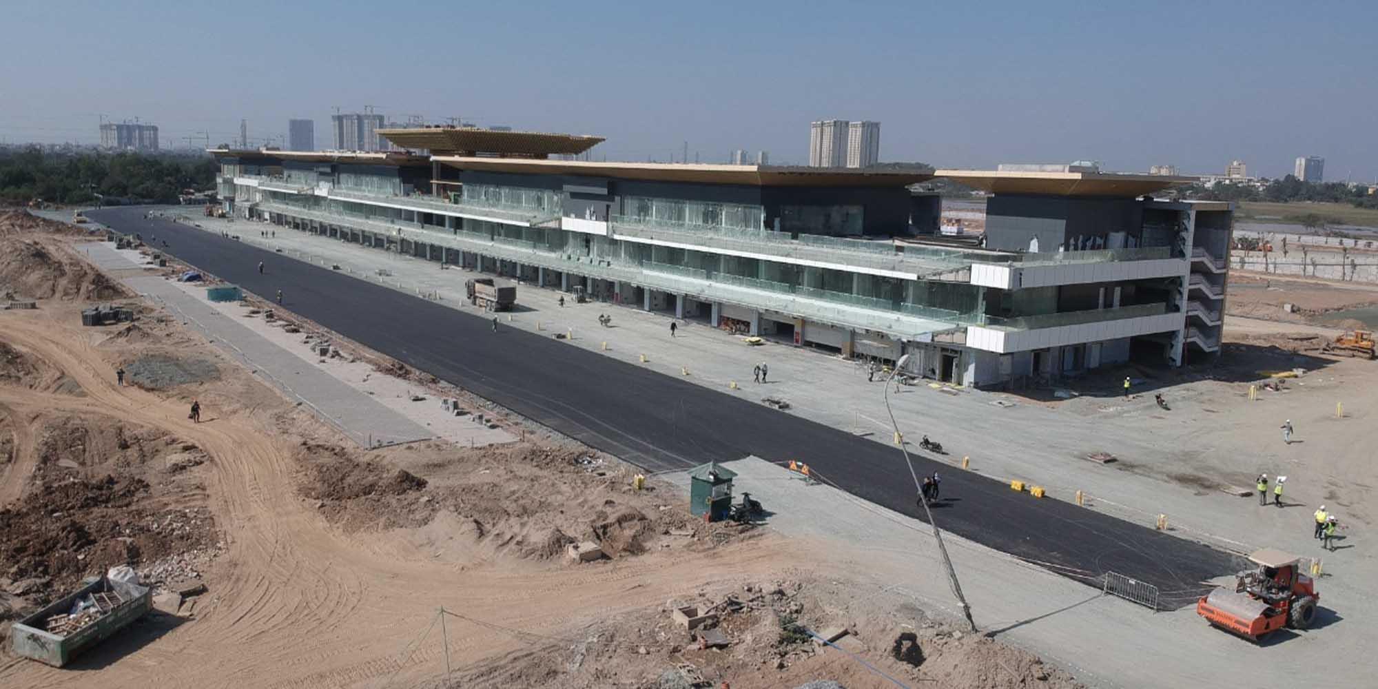 Hanoi circuit: pit building complete ahead of 2020 Vietnamese GP
