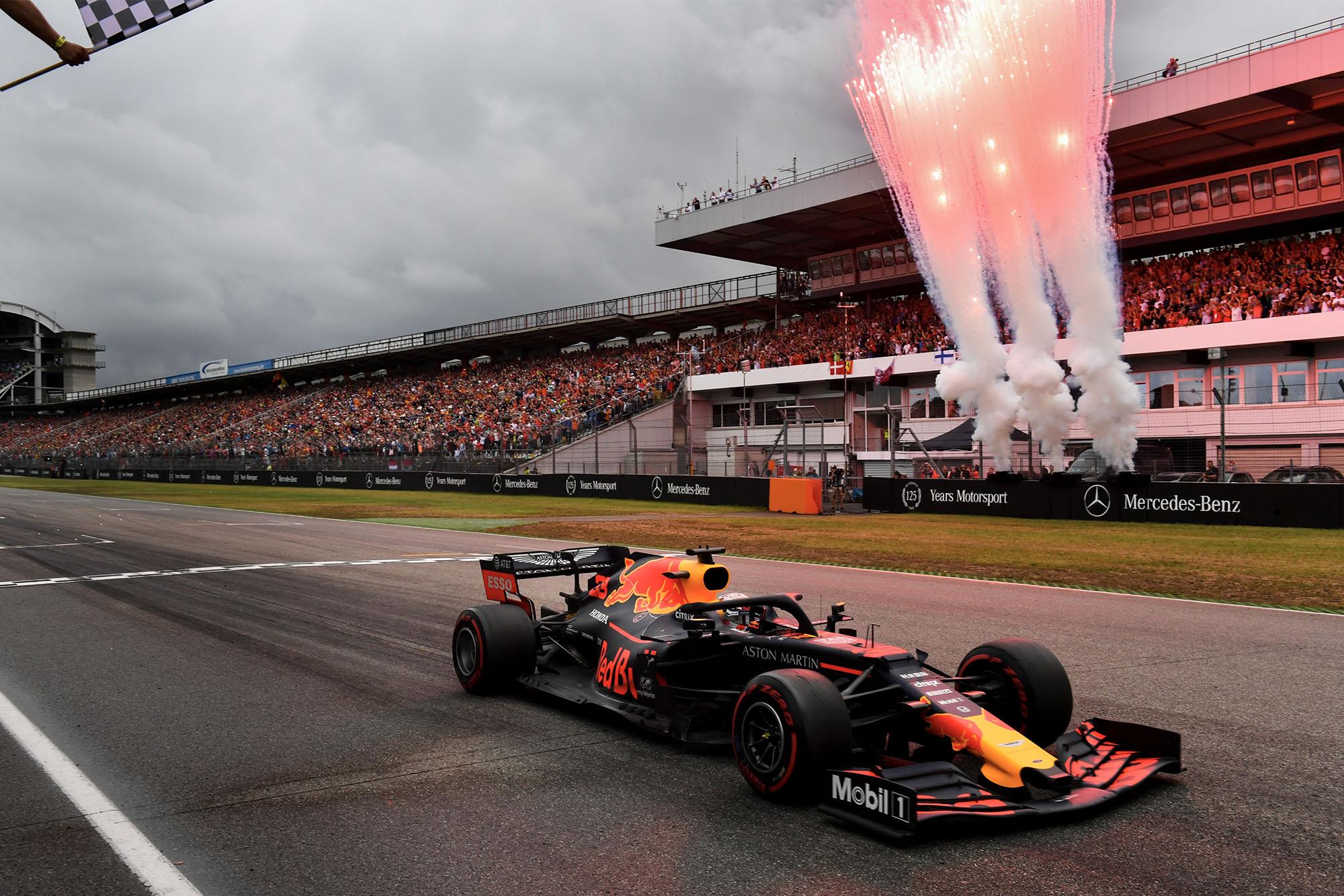German Hockenheim Grand Prix Track Poster Formula One