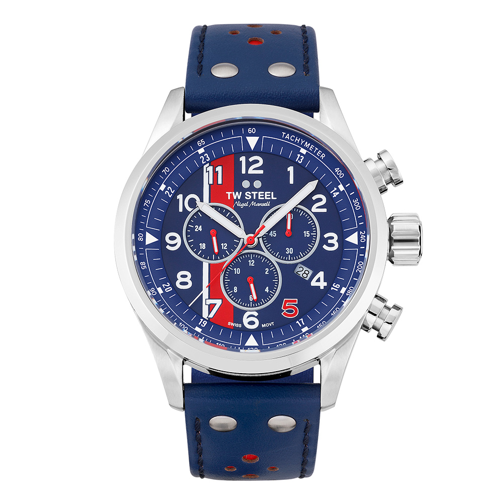 Product image for TW Steel Nigel Mansell Red 5 Chronograph