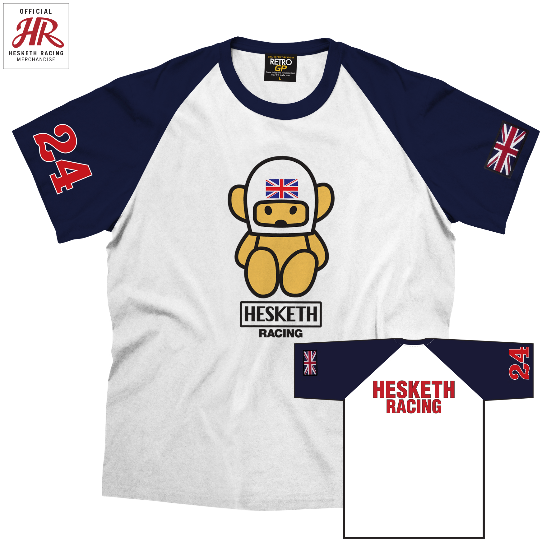 Product image for Official Hesketh Racing Crew Shirt