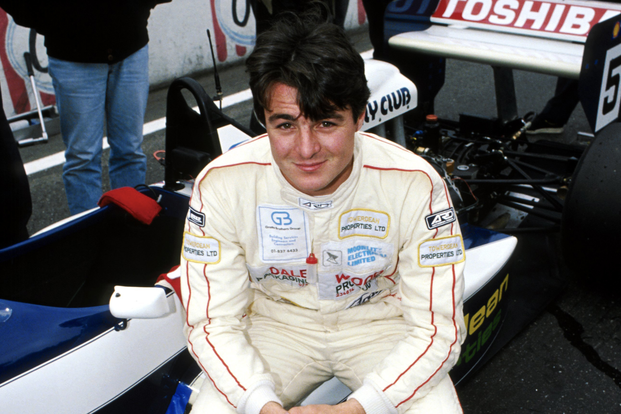 Mark Blundell: the formidable racer with raw talent