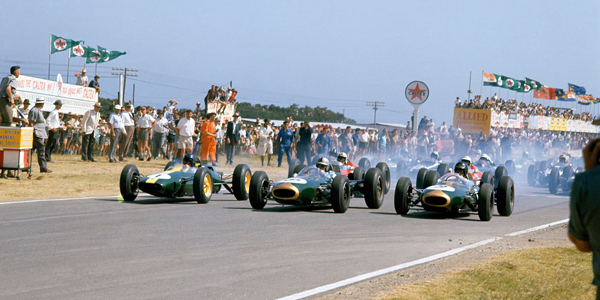 F1 in the winter sun: New Year racing with Clark, Hill, Stewart and Moss