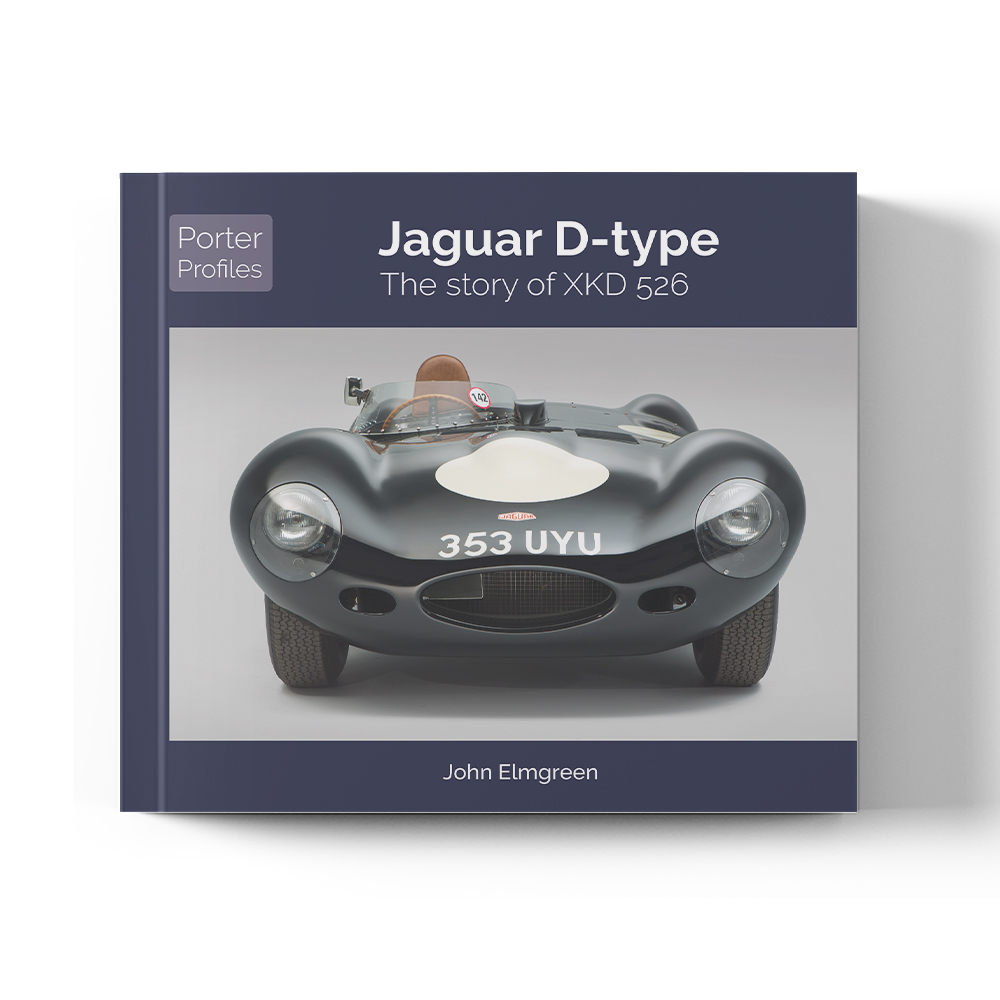 Product image for Jaguar D-Type The story of XKD526 By John Elmgreen