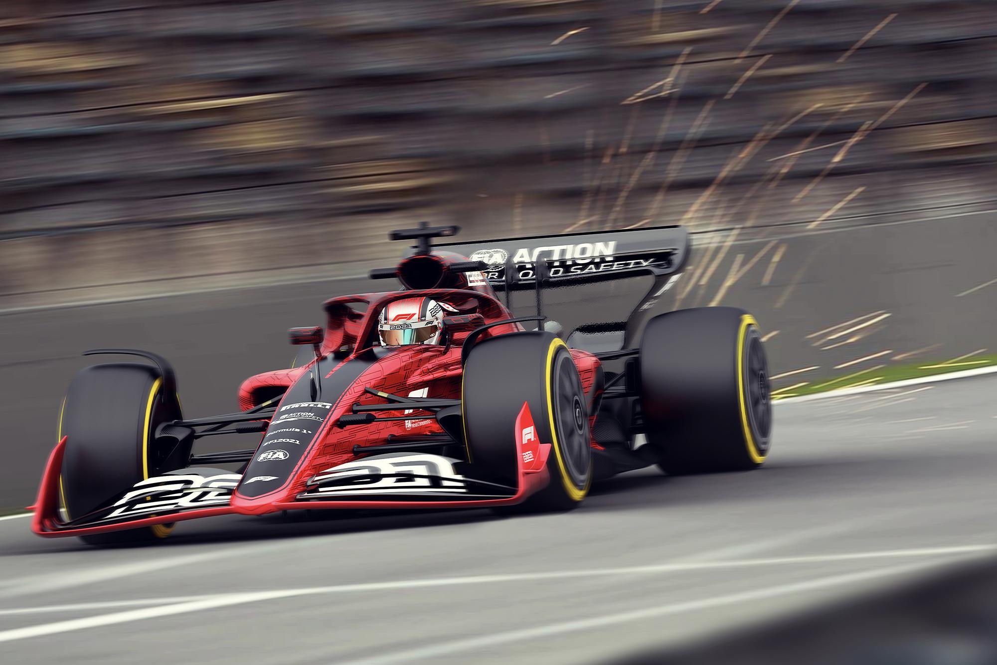 2021 F1 sparks