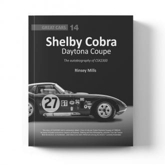 Product image for Shelby Cobra Daytona Coupe - The autobiography of CSX2300 by Rinsey Mills
