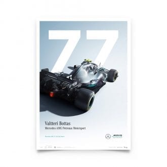 Product image for Mercedes-AMG Petronas Motorsport - Valtteri Bottas - Limited Edition Poster