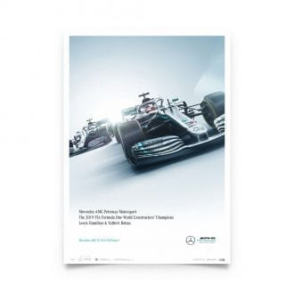Product image for Mercedes-AMG Petronas Motorsport - Team - Limited Edition Poster