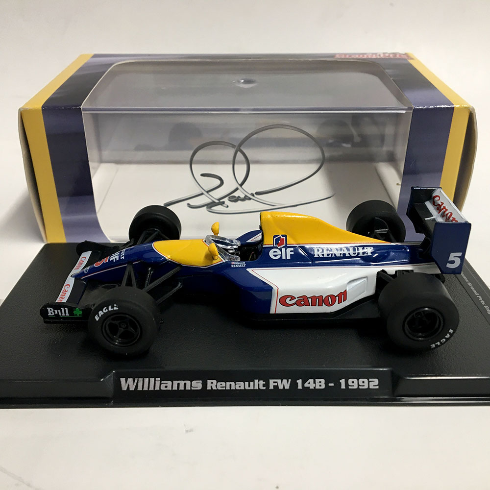 Product image for Williams FW14B, 1/43 Scale: Signed