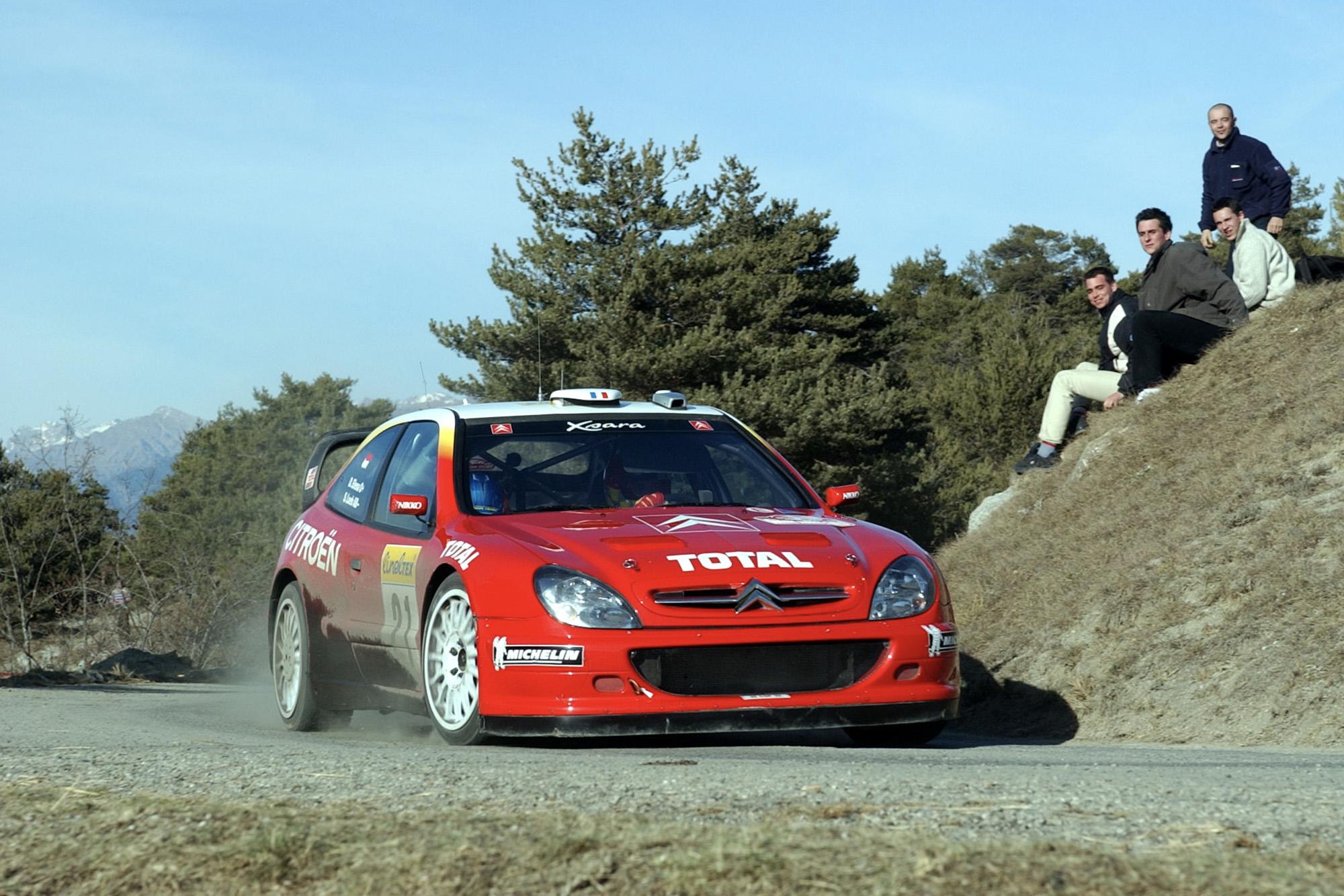 2002 Monte Carlo Rally: the arrival of Sebastien Loeb