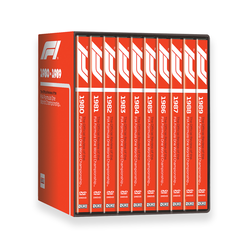 Product image for F1 1980-89 (10 DVD) Box Set