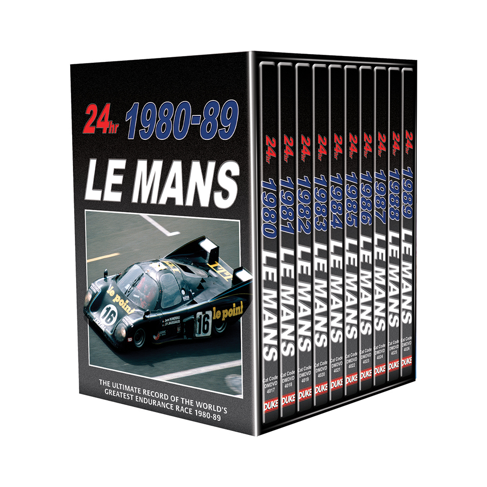 Product image for Le Mans Collection 1980-89 (10 DVD) Box Set