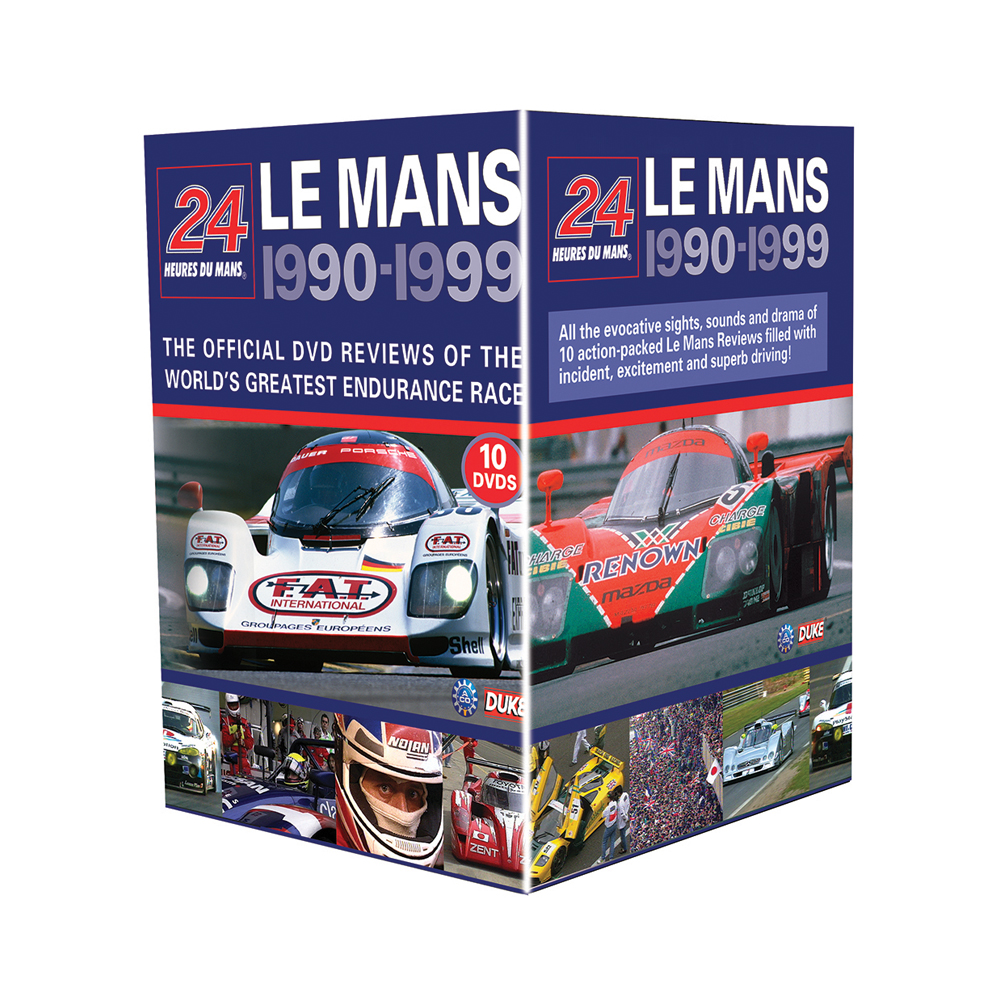 Product image for Le Mans Collection 1990-99 (10 DVD) Box Set