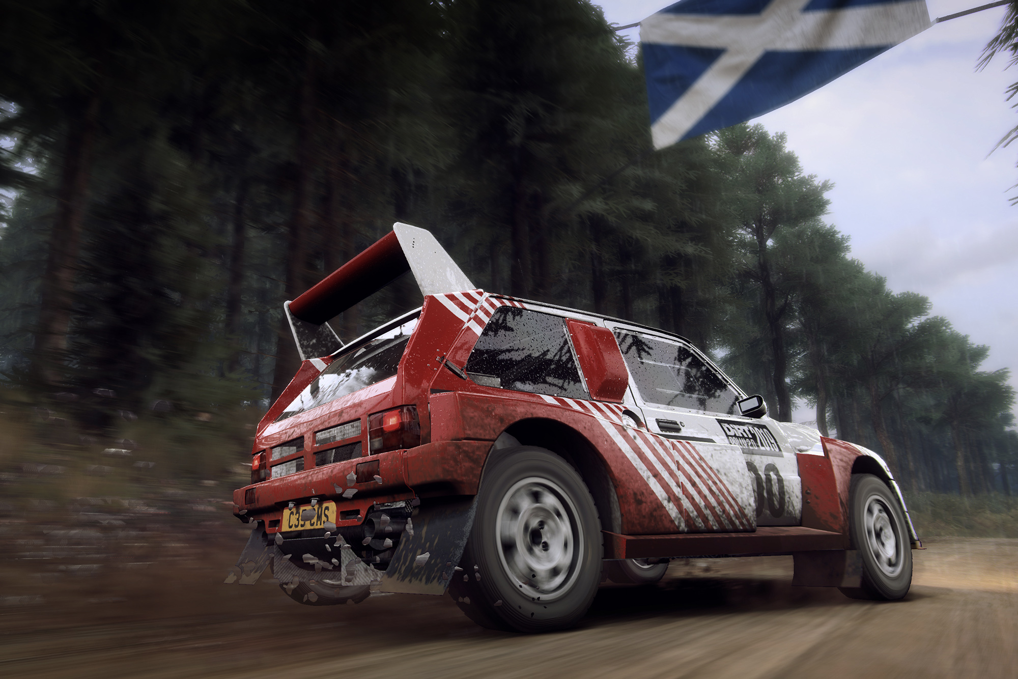 Metro 6R4 rear DiRT Rally 2.0
