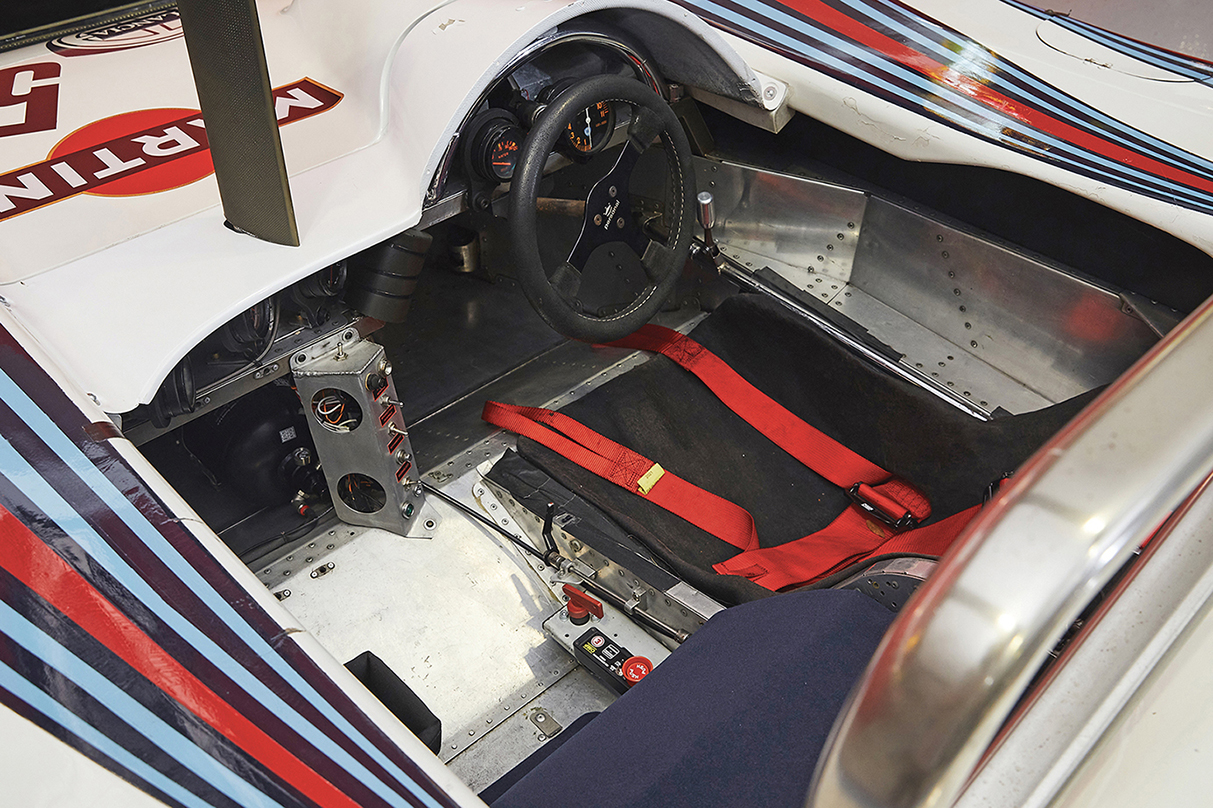 Interior of the Lancia LC1