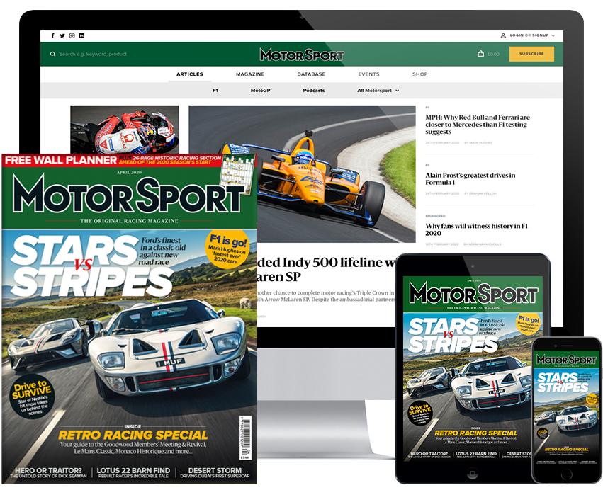 Motor Sport coronavirus (COVID-19) update