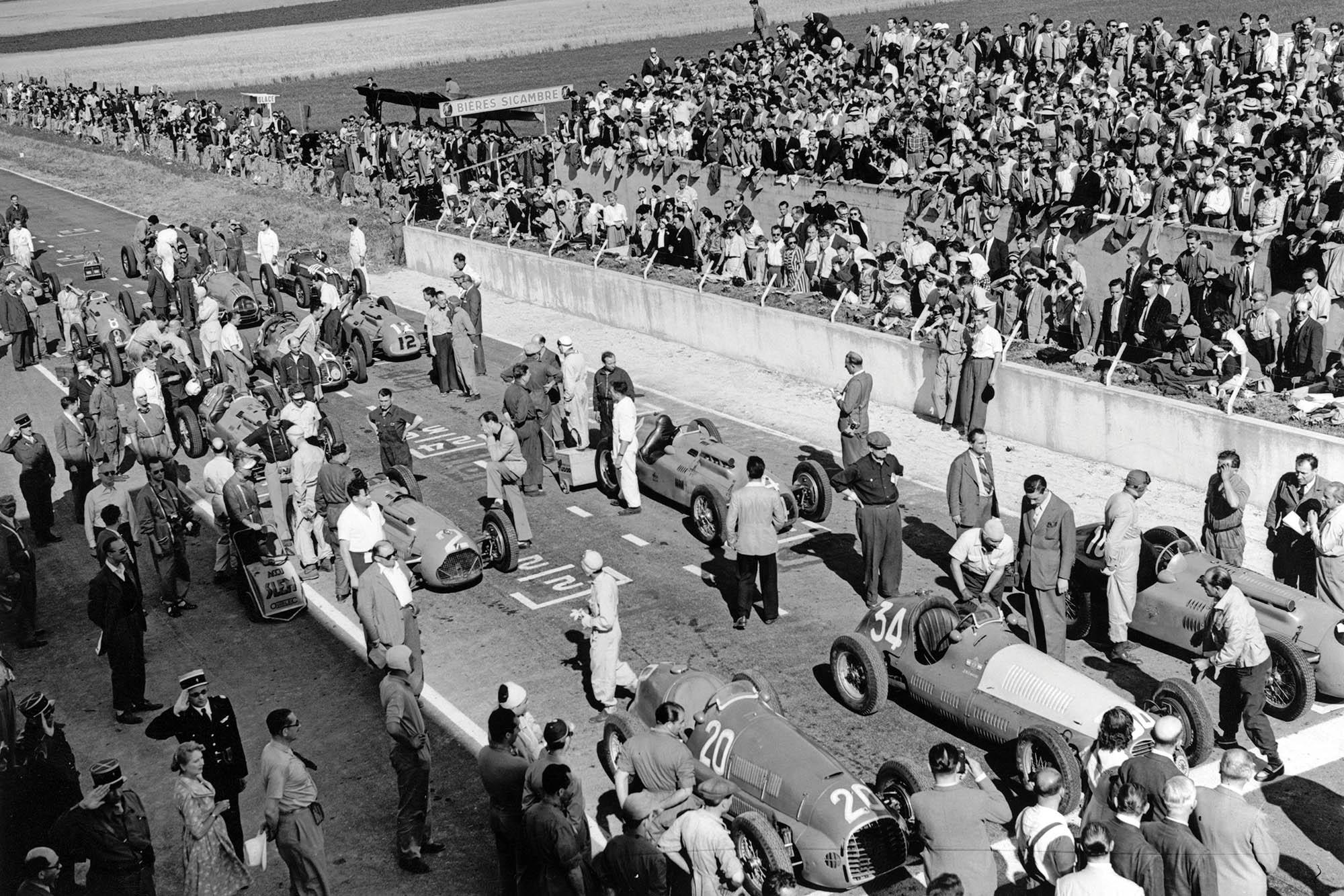 Fangio Maserati Reims