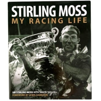 Product image for Stirling Moss, My Racing Life: signed book