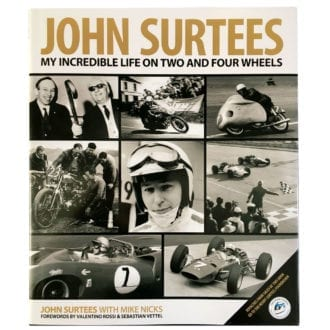 Product image for John Surtees, My Incredible Life: signed book