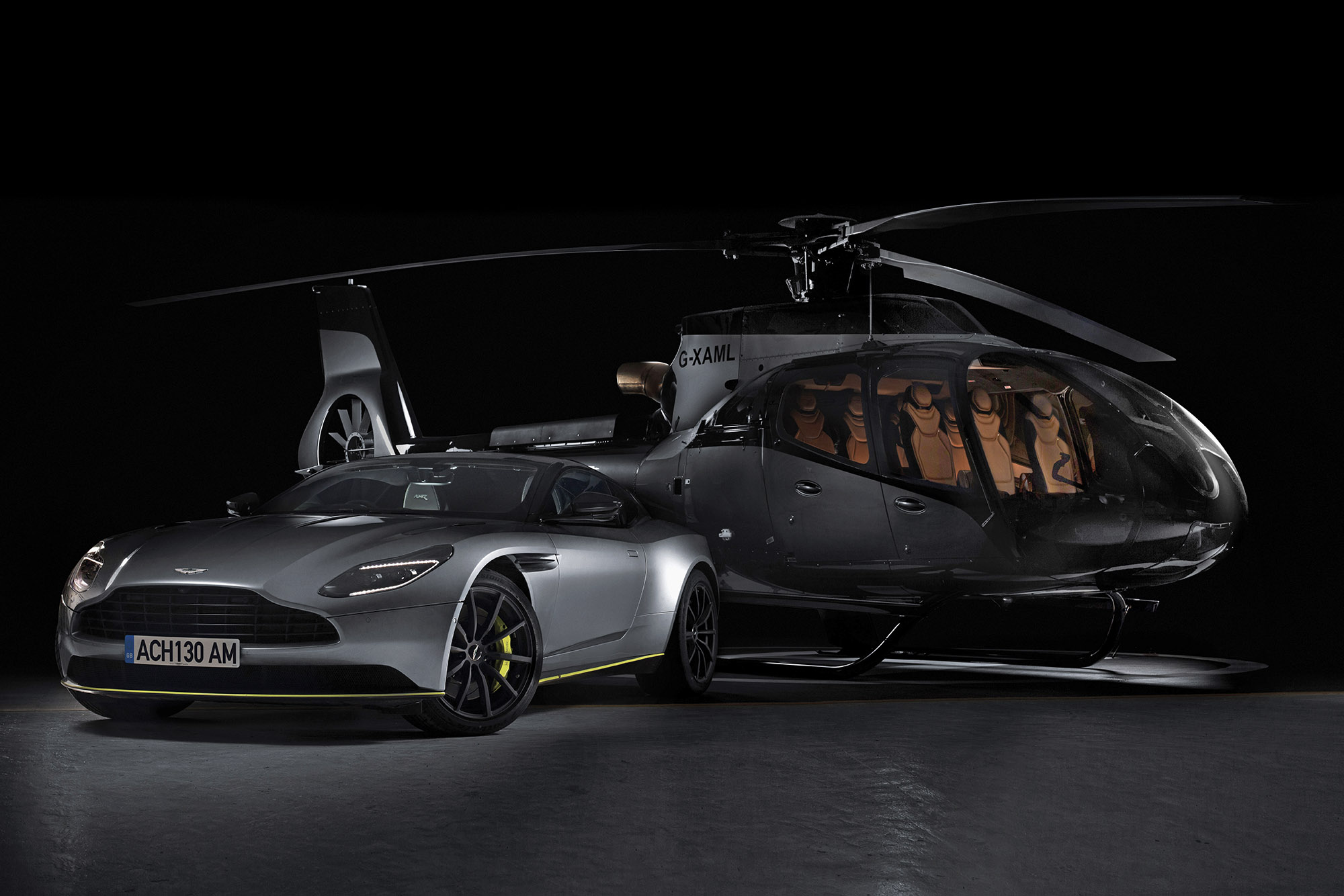 Aston Martin Helicopter