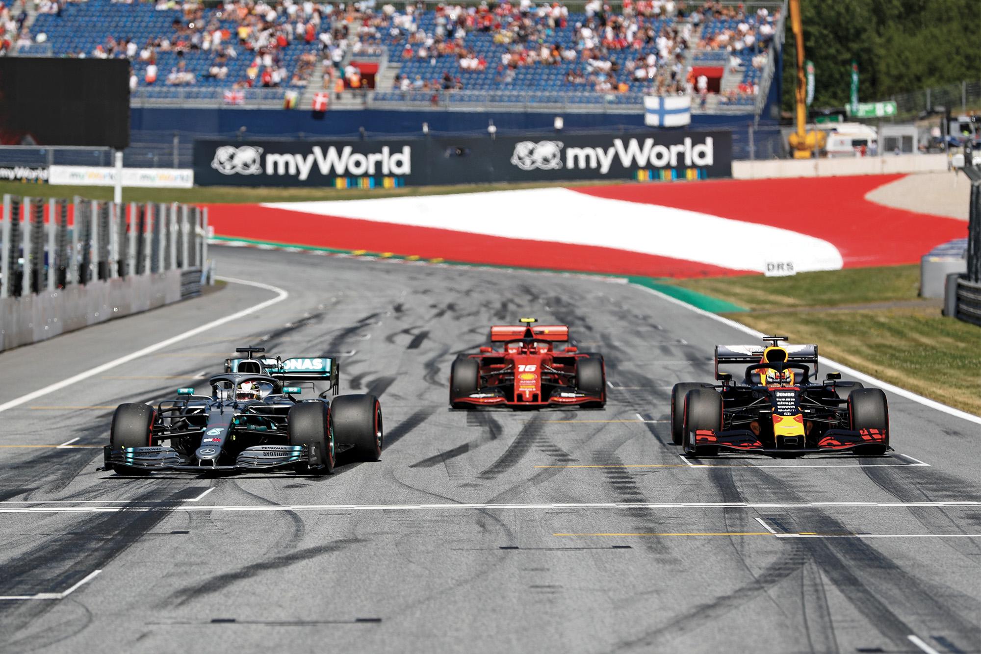 Hamilton Leclerc Verstappen