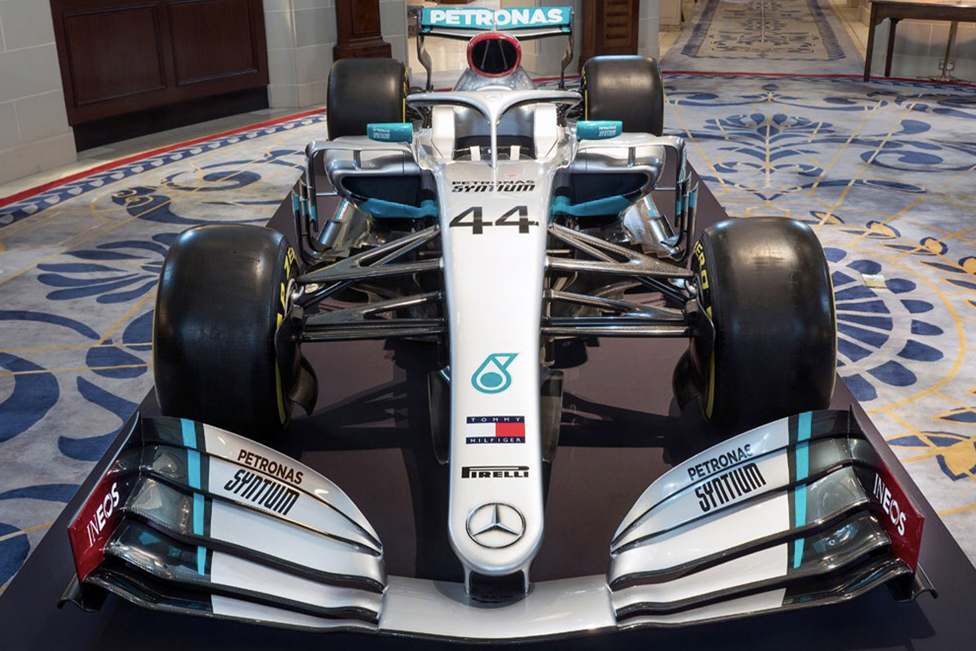 Mercedes commits to five-year F1 sponsor deal as it reveals 2020 W11 livery