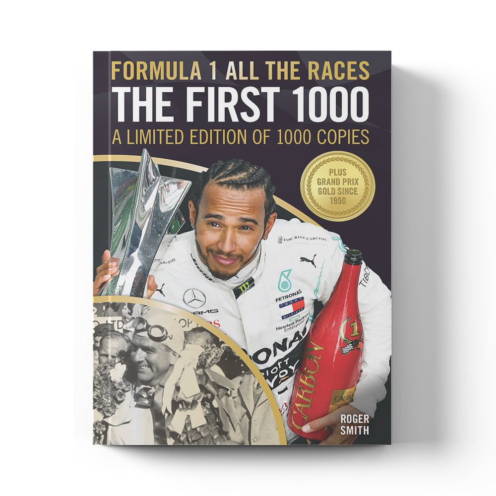 Product image for Formula 1 All The Races: The First 1000