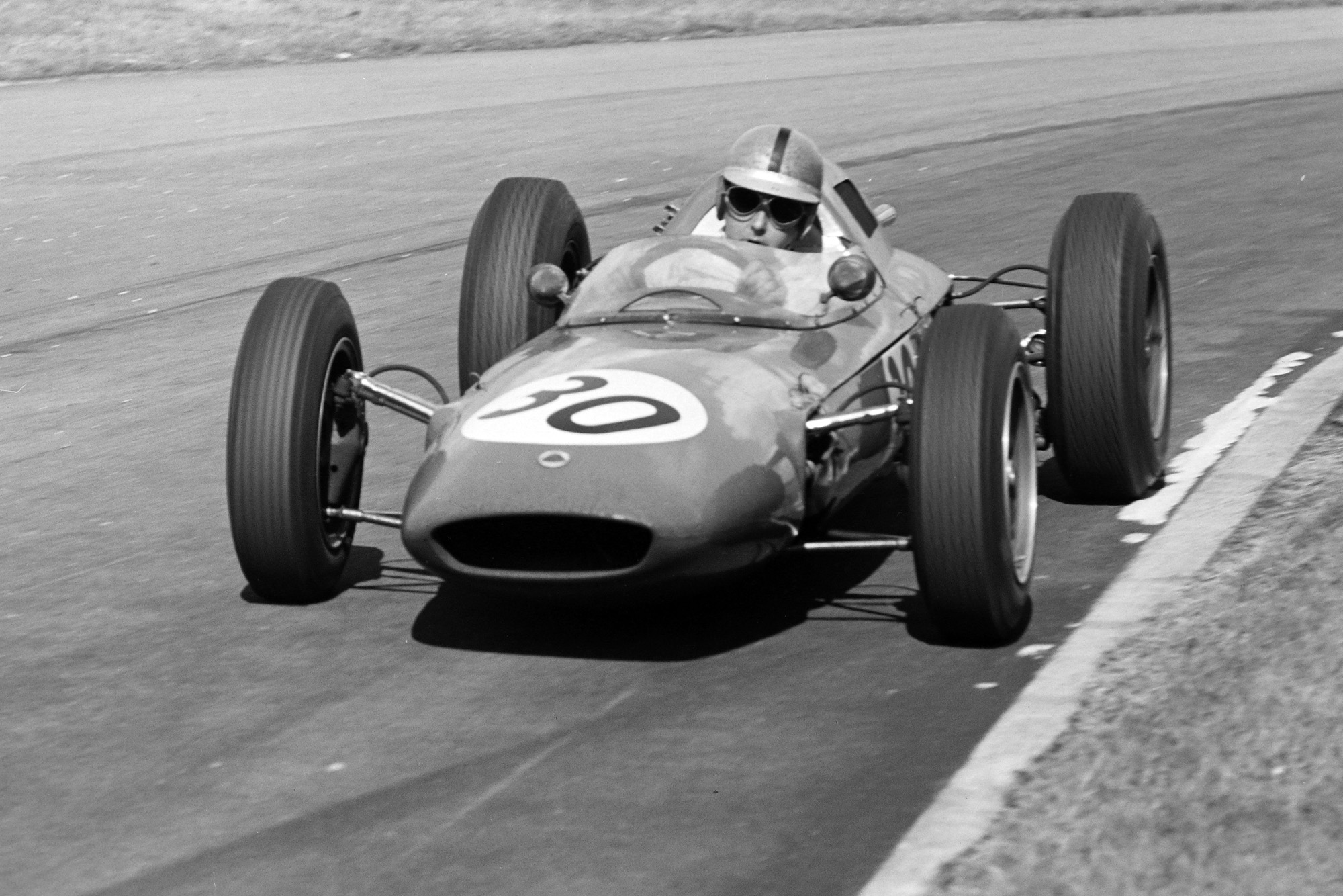 Jack Brabham's Lotus 24