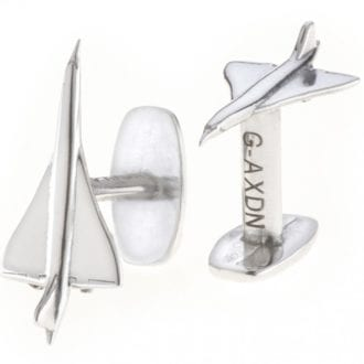 Product image for Reclaimed Concorde Cufflinks