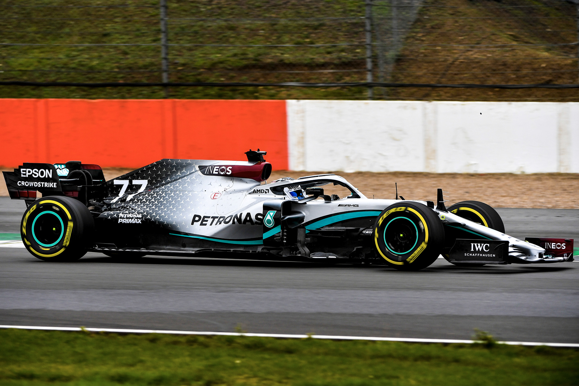 Mercedes reveals 2020 W11 car ahead of Silverstone shakedown