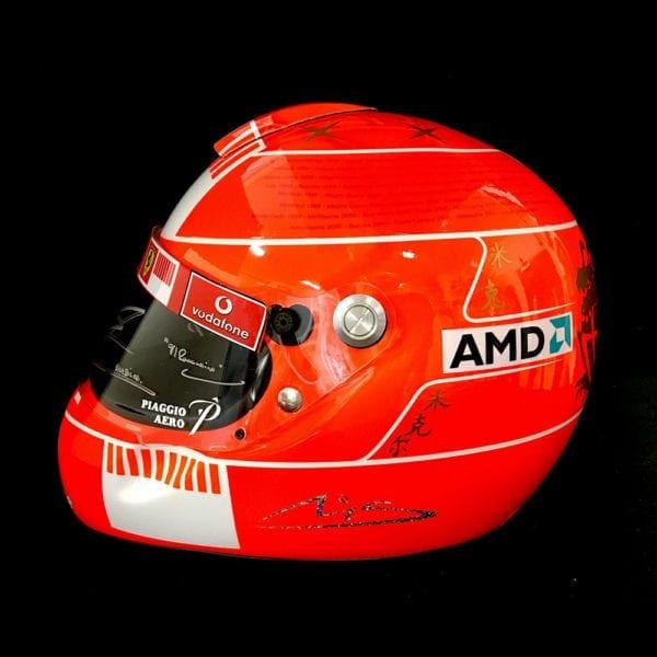 Signed-Ferrari-helmet