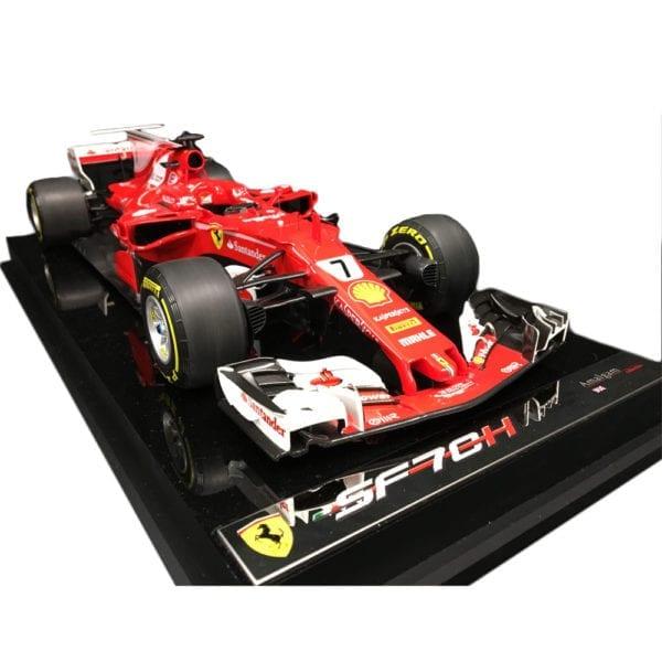 1:12 Ferrari SF70H by Amalgam, signed Kimi Räikkönen