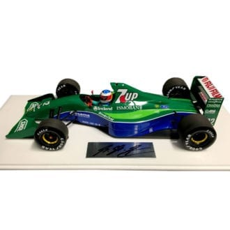 Product image for Jordan 191, Spa Grand Prix, signed Michael Schumacher