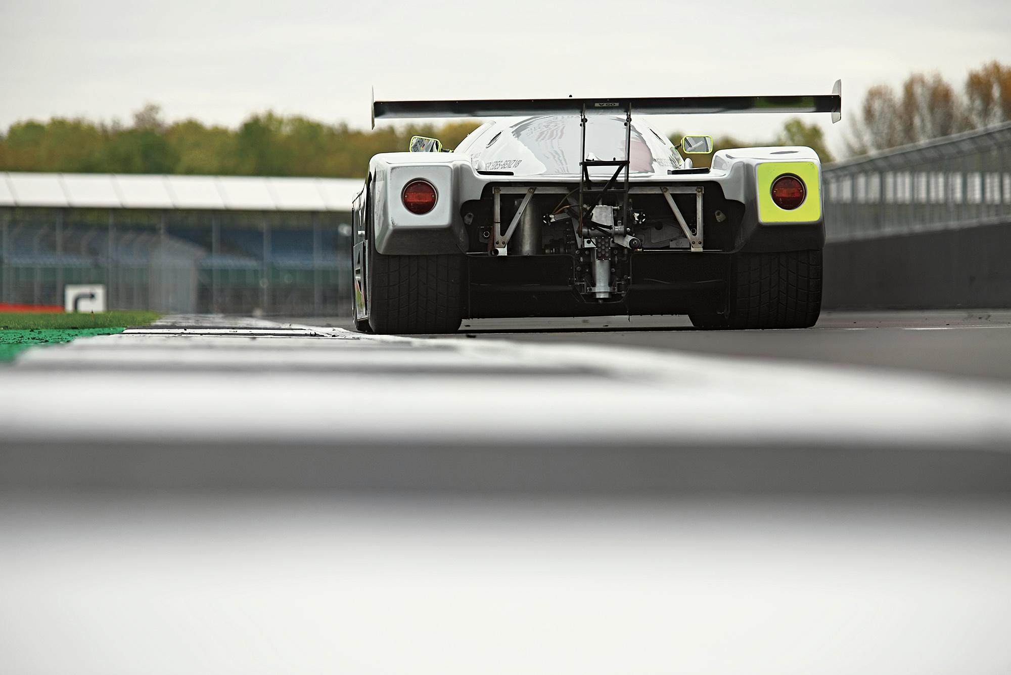 Sauber C9 rear