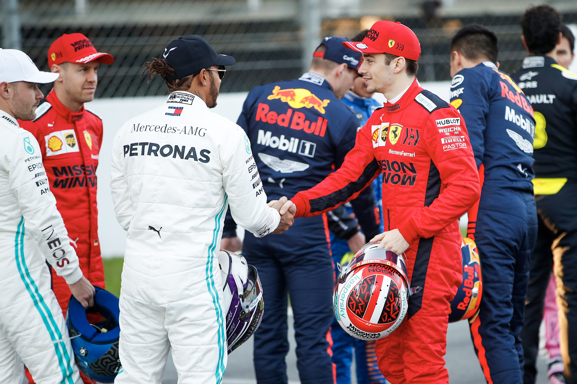 Handshakes at dawn: 2020 F1 testing begins