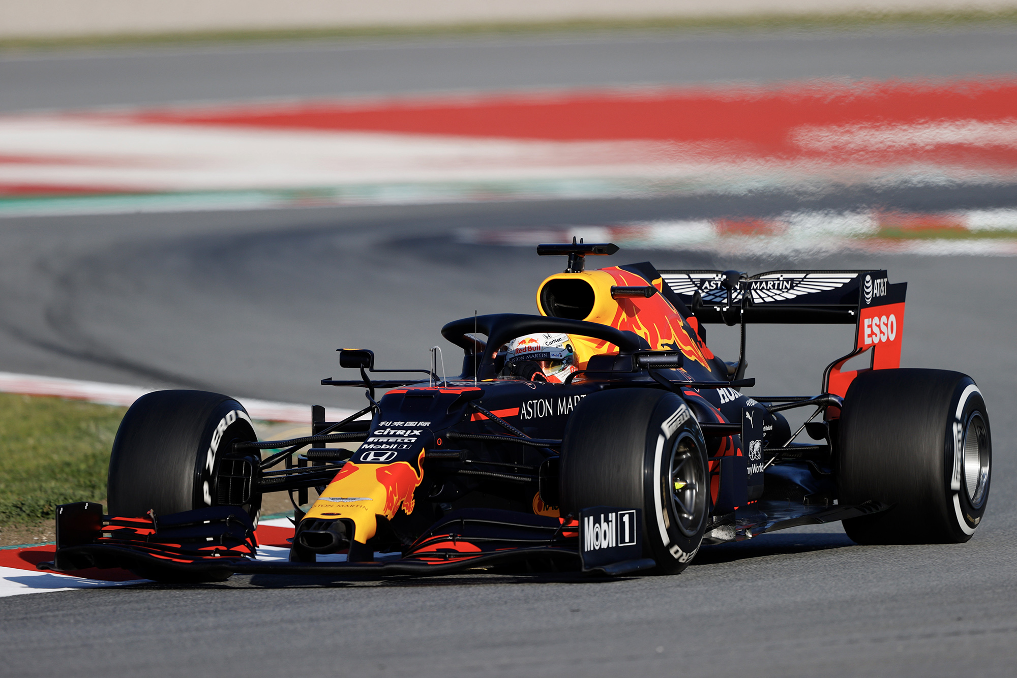 "Verstappen says new Red Bull is ""fast everywhere"""