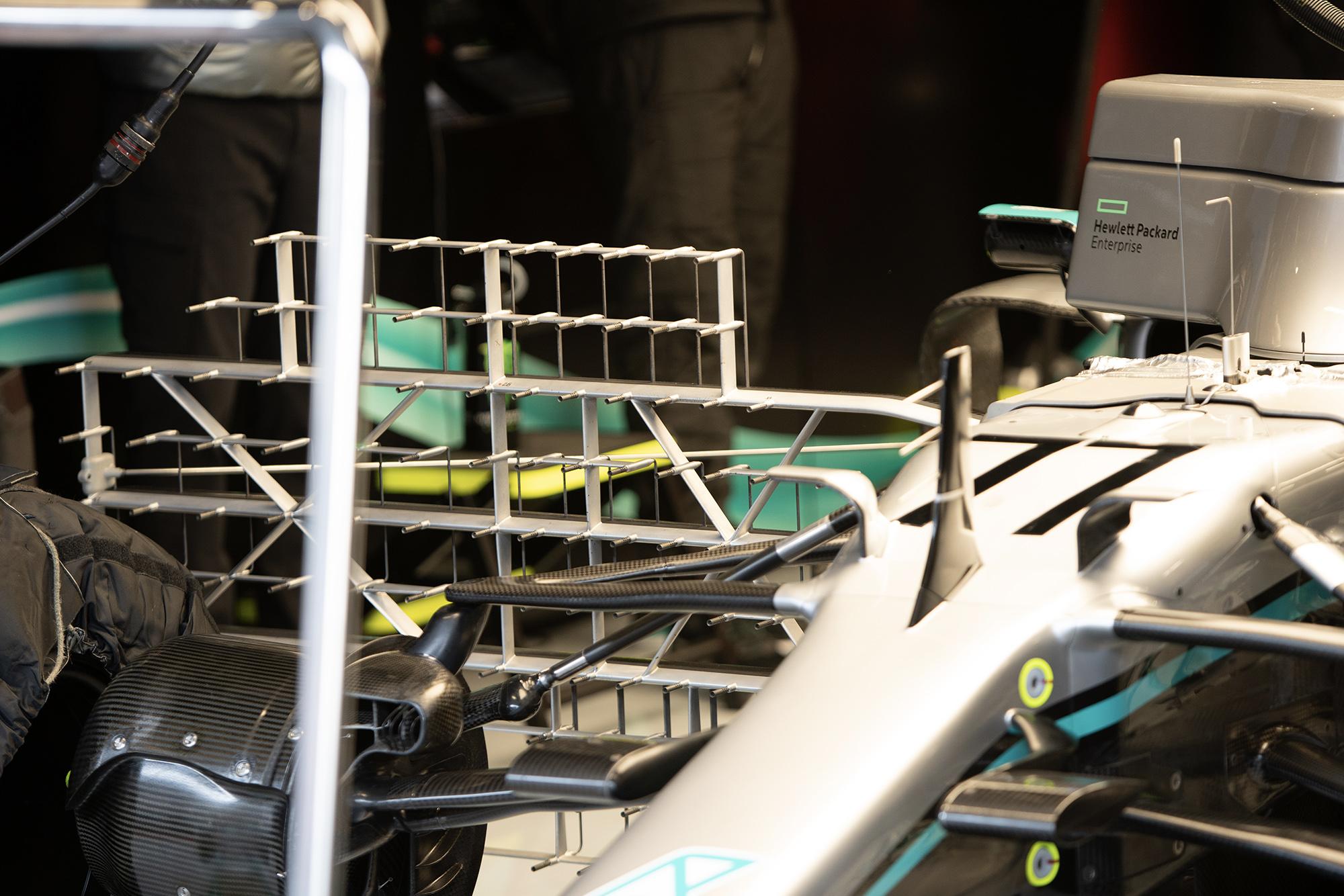 Mercedes kiel probe array