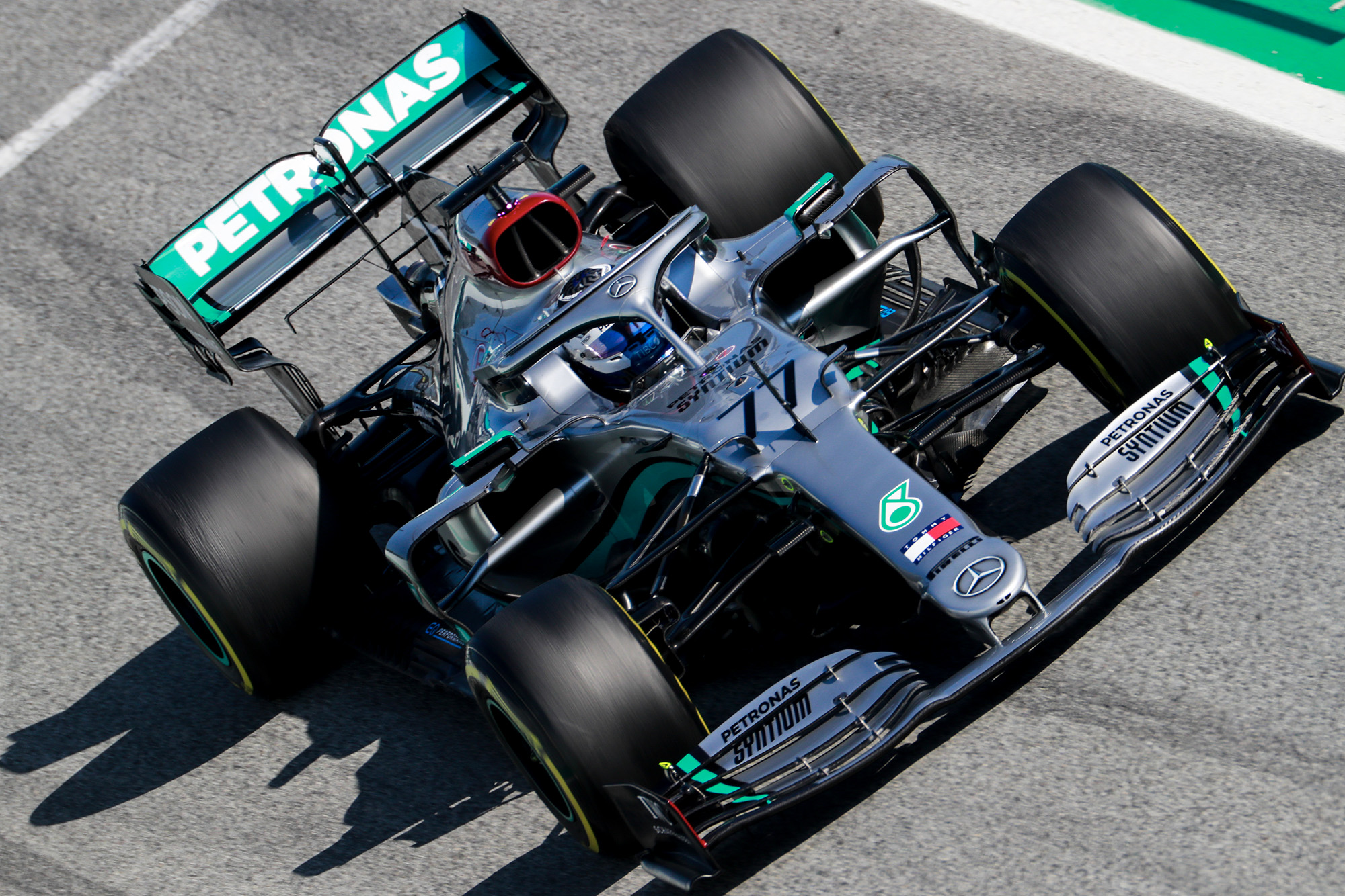 F1 testing: Mercedes wraps up week one of Formula 1 testing on top