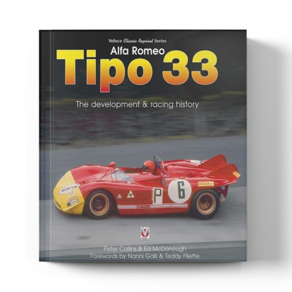 Alfa Romeo Tipo 33 by Peter Collins & Ed McDonough book cover