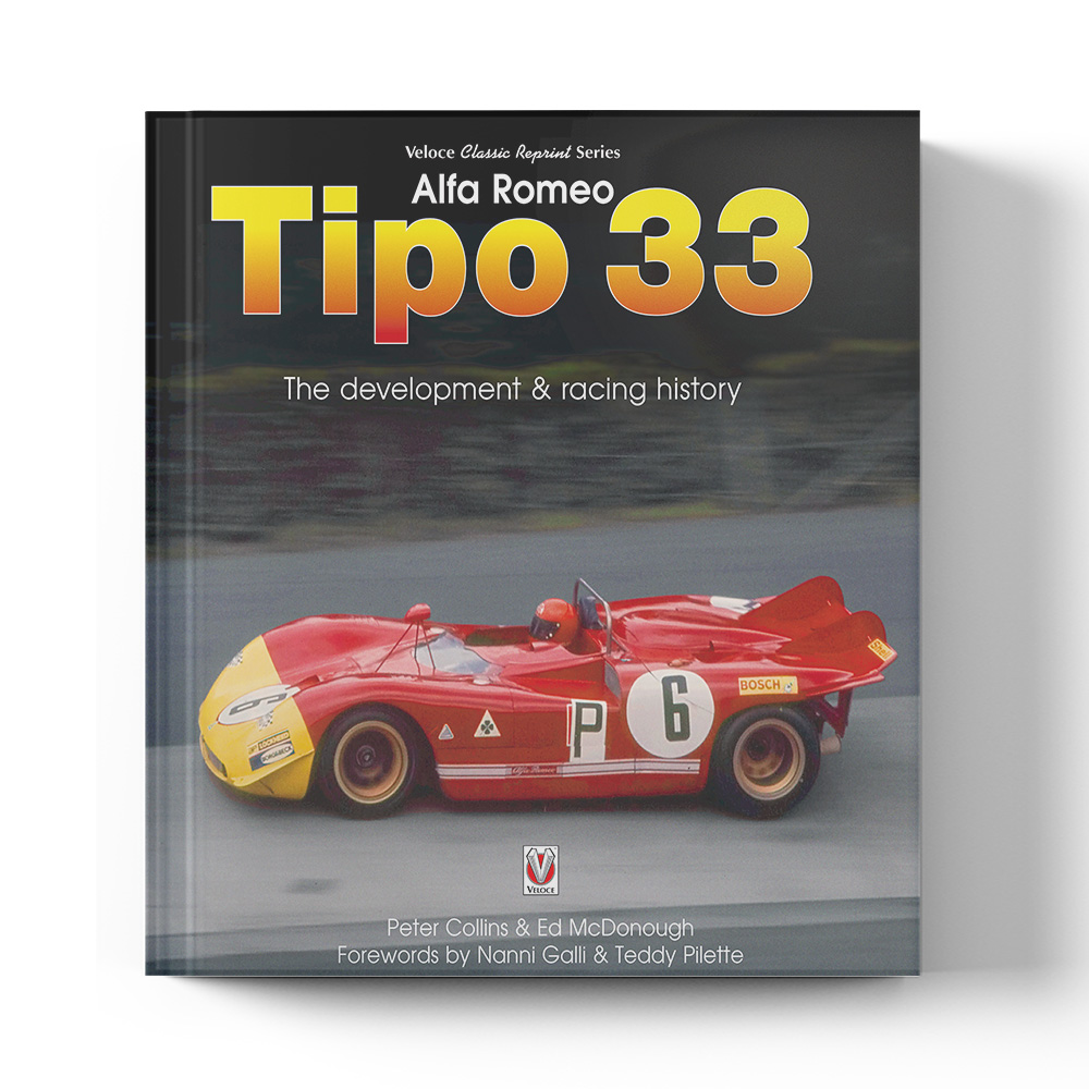 Product image for Alfa Romeo Tipo 33 by Peter Collins & Ed McDonough