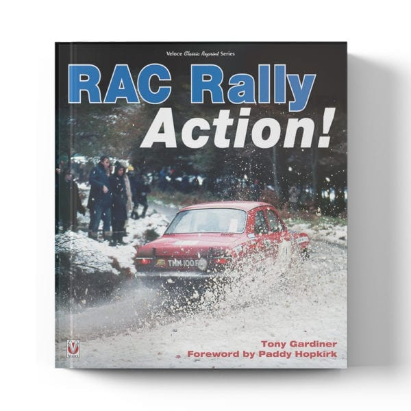 RAC Rally Action! by Tony Gardiner book cover