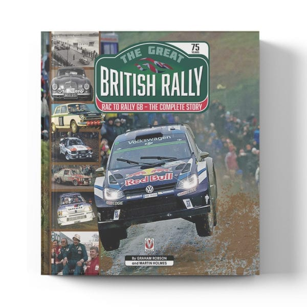 The Great British Rally. RAC to Rally GB: The Complete Story book cover
