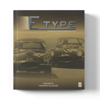 Product image for Jaguar E-type Factory and Private Competition Cars by Peter Griffiths