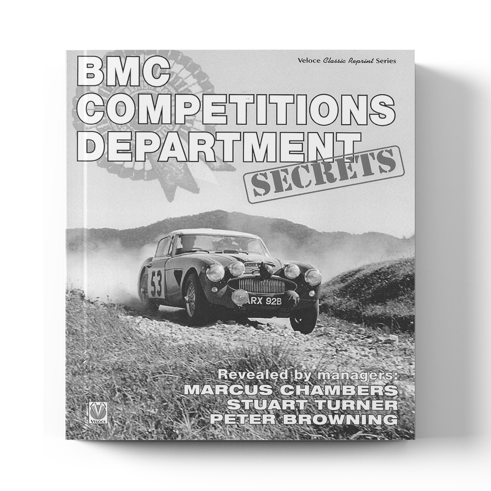 Product image for BMC Competitions Department Secrets by Peter Browning, Marcus Chambers, Stuart Turner & Philip Young