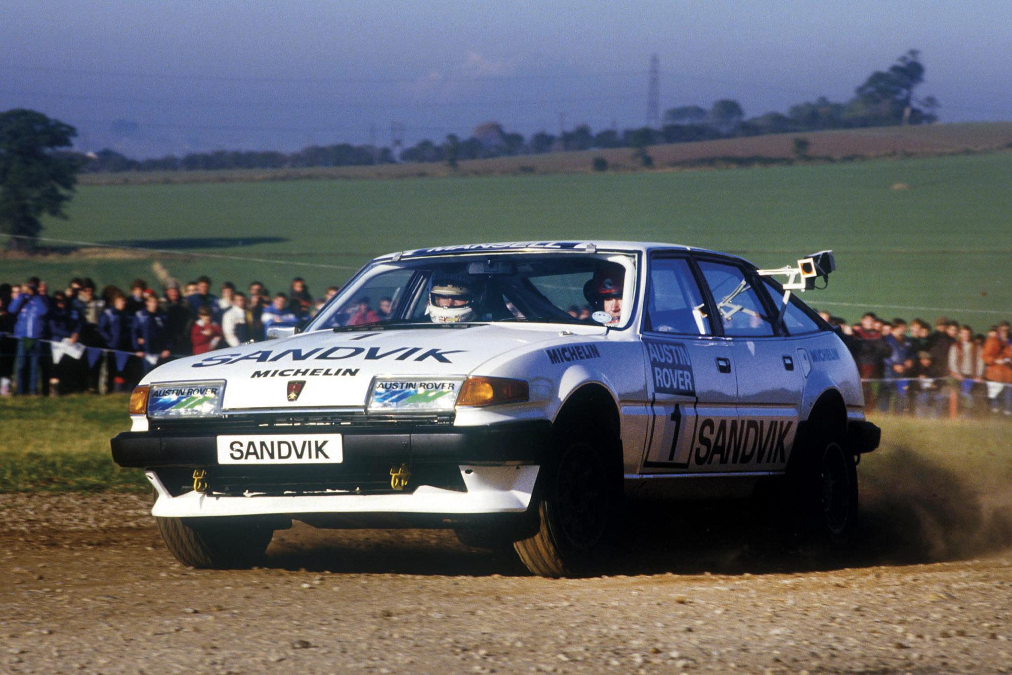 Mansell rally sprint
