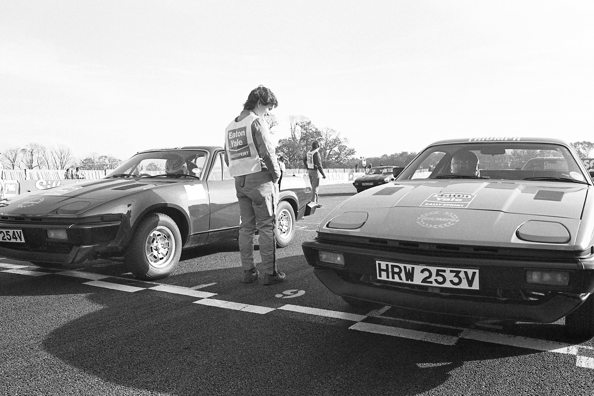 TR7 rally sprint