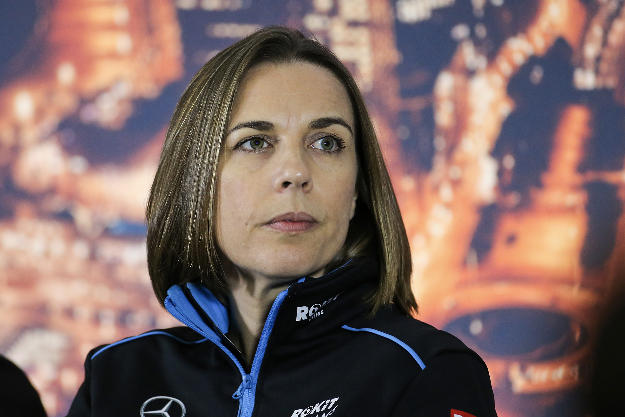 Claire Williams at 2020 F1 preseason testing