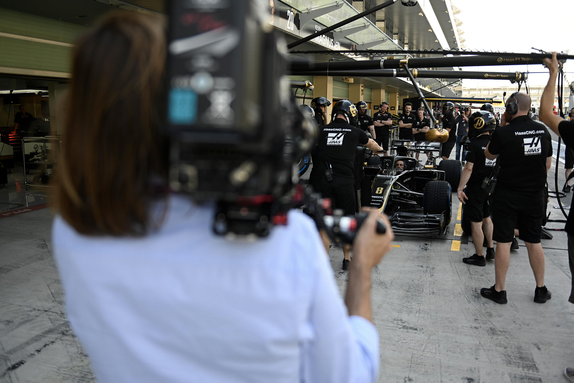 Filming F1 Drive to Survive