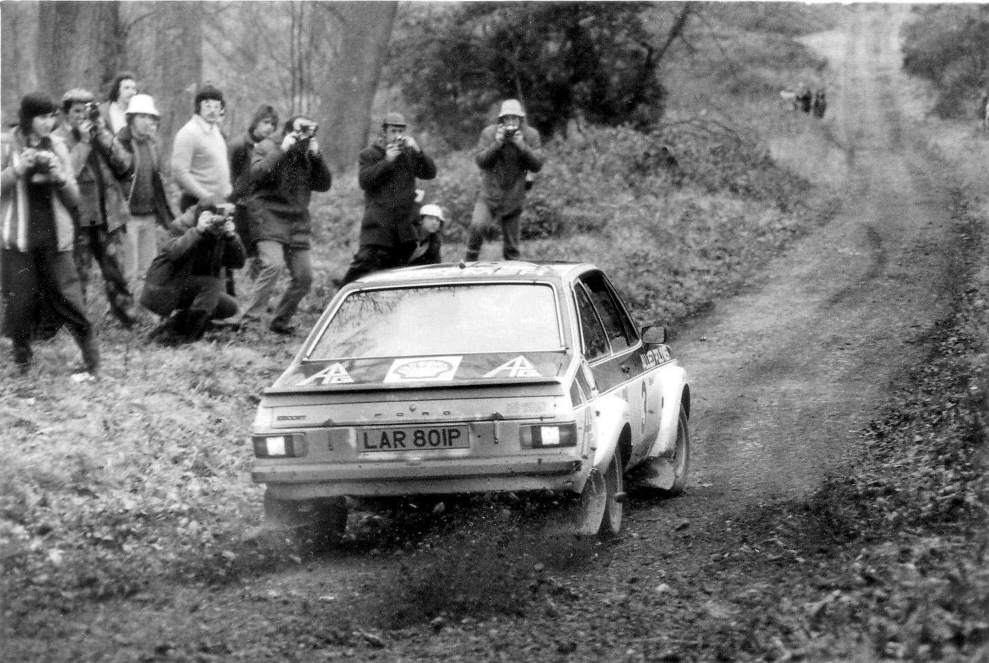 Jari Vatannen on Forest of Dean Rally