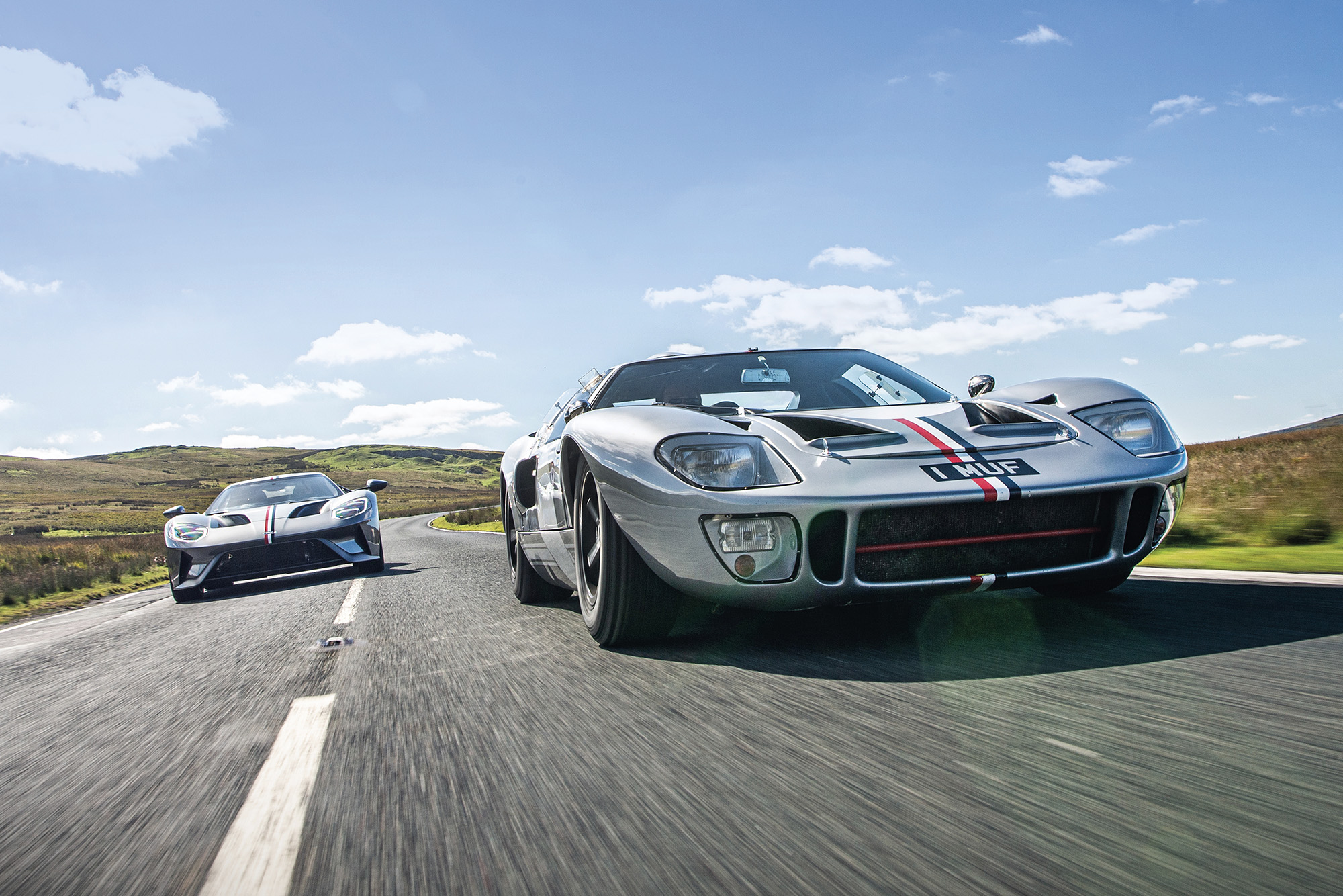 Ford's finest, head to head: GT40 & modern GT